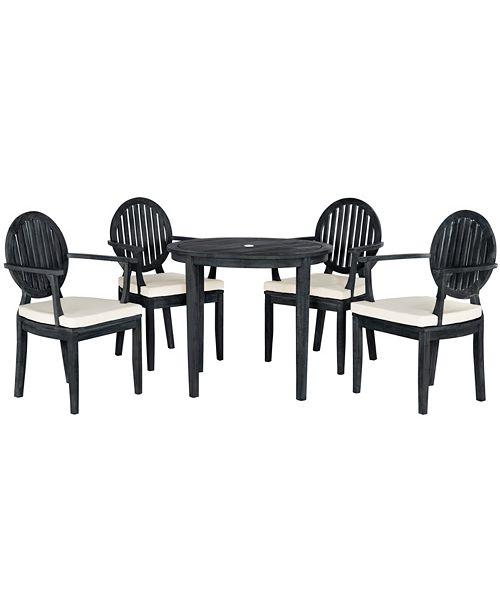 Safavieh Chino 5Pc Outdoor Dining Set