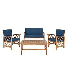 Fontana 4Pc Outdoor Seating Set