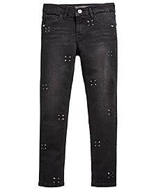 Big Girls Embellished Skinny Jeans