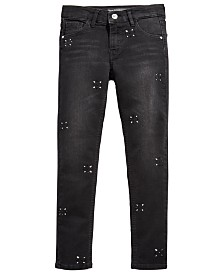 GUESS Big Girls Embellished Skinny Jeans