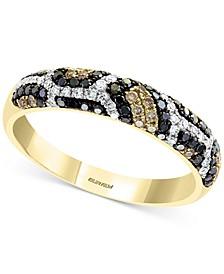 EFFY® Multi-Color Diamond Ring (3/8 ct. t.w.) in 14k Gold