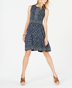 a560df015 MICHAEL Michael Kors Medallion-Print A-Line Dress, Regular & Petite Sizes ·  NEW!