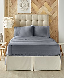 Five Queens Court Royal Fit 500 TC Cotton-blend King Sheet Set