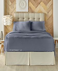 J. Queen New York Royal Fit 300 TC Cotton-blend Queen Sheet Set