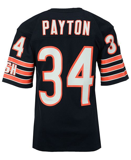 best cheap 23a15 e4c18 Men's Walter Payton Chicago Bears Authentic Football Jersey