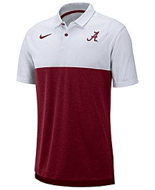 Men's Alabama Crimson Tide Dri-Fit Colorblock Breathe Polo