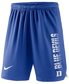 Men's Duke Blue Devils Breathe Knit Shorts