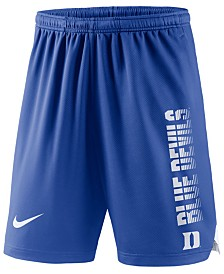 Nike Men's Duke Blue Devils Breathe Knit Shorts