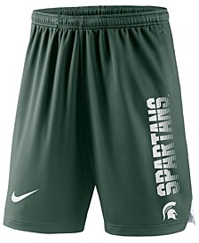 Men's Michigan State Spartans Breathe Knit Shorts