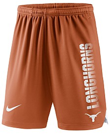 Nike Men's Texas Longhorns Breathe Knit Shorts