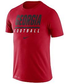 Nike Men's Georgia Bulldogs Icon Wordmark T-Shirt