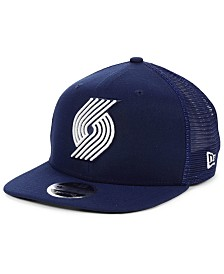 New Era Portland Trail Blazers Dub Fresh Trucker 9FIFTY Snapback Cap