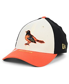 New Era Baltimore Orioles Timeline Collection 39THIRTY Stretch Fitted Cap