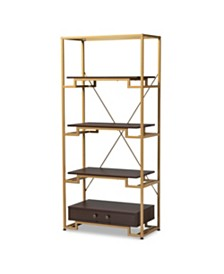 Cerelia Bookcase, Quick Ship