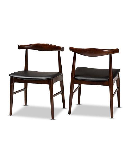 Furniture Eira Dining Chair Set, Quick Ship