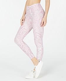 Printed High-Rise Leggings