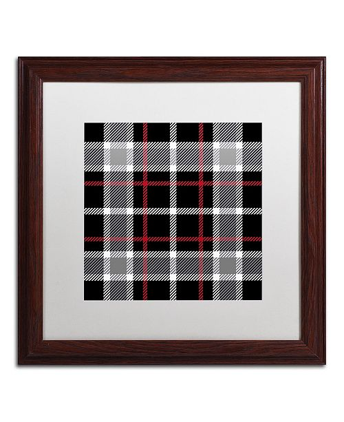 """Trademark Global Color Bakery 'Group 05 A' Matted Framed Art - 16"""" x 16"""""""