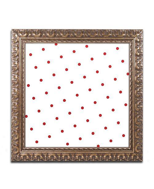 """Trademark Global Color Bakery 'Group 05 B' Ornate Framed Art - 16"""" x 16"""""""