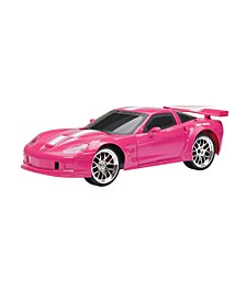 1:16 Scale Radio Control Corvette in Pink