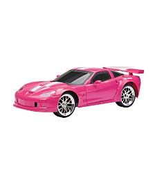 New Bright 1:16 Scale Radio Control Corvette in Pink