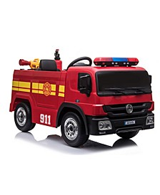 12 Volt Battery Operated Fire Truck