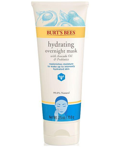 Burt's Bees Hydrating Overnight Mask, 2.5-oz.