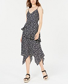 Juniors' Ruffled Maxi Dress
