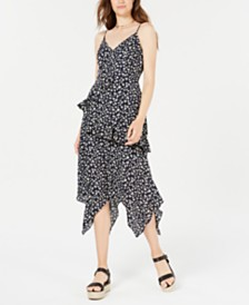 Trixxi Juniors' Ruffled Maxi Dress