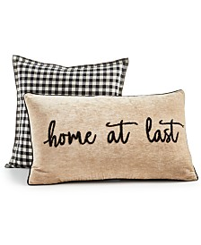 Lacourte 2-Pk. Home At Last Decorative Pillow Collection