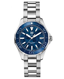 TAG Heuer Women's Swiss Aquaracer Stainless Steel Bracelet Watch 35mm