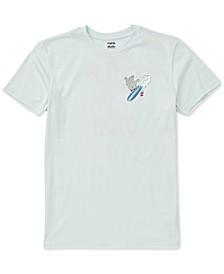 Toddler & Little Boys Surf-Print Cotton T-Shirt