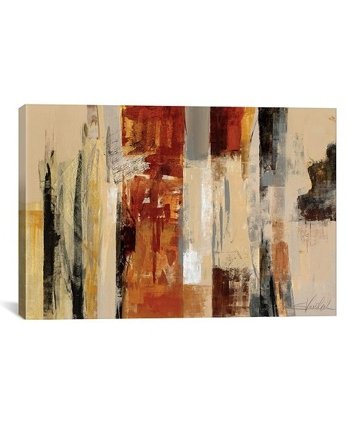 "iCanvas Urban Morning by Silvia Vassileva Gallery-Wrapped Canvas Print - 12"" x 18"" x 0.75"""
