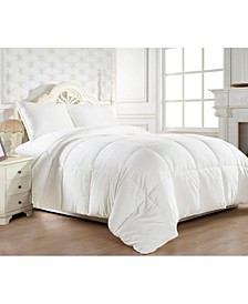 1200 Thread Count Goose Down Alternative Comforter Cotton - 750Fill Power - Solid Twin/Twin XL