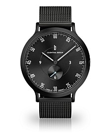 L1 All Black Mesh Watch 42mm
