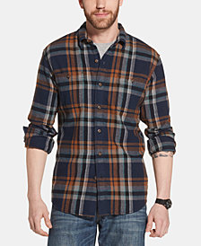 G.H. Bass & Co. Men's Bull Twill Plaid Shirt