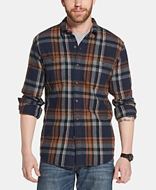 G.H. Bass & Co. Men's Bull Twill Plaid Shirt