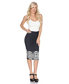 Cynthia Pencil Skirt