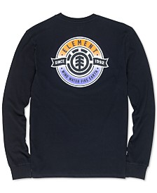 Element Men's Medallion Graphic Long-Sleeve T-Shirt