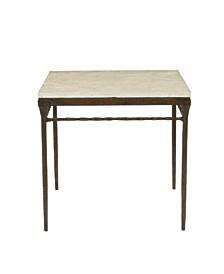 Desmond Square Chairside Table
