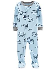 Baby Boys 1-Pc. Monster-Print Pajama
