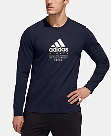 adidas Men's Graphic Long-Sleeve T-Shirt