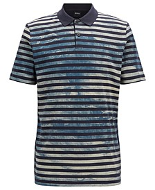 BOSS Men's Pirch Polo Shirt in Jersey Cotton
