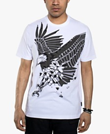 Sean John Men's Textured Eagle T-Shirt