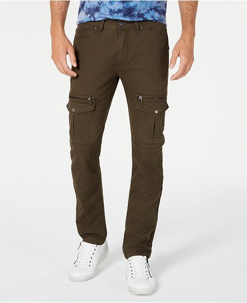 INC International Concepts INC Men's Slim-Fit Utility Pants, Created for Macy's