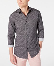 I.N.C. Men's Nolan Slim-Fit Print Shirt, Created for Macy's