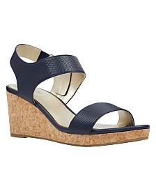 Bandolino Tessa Cork Wedge Sandals