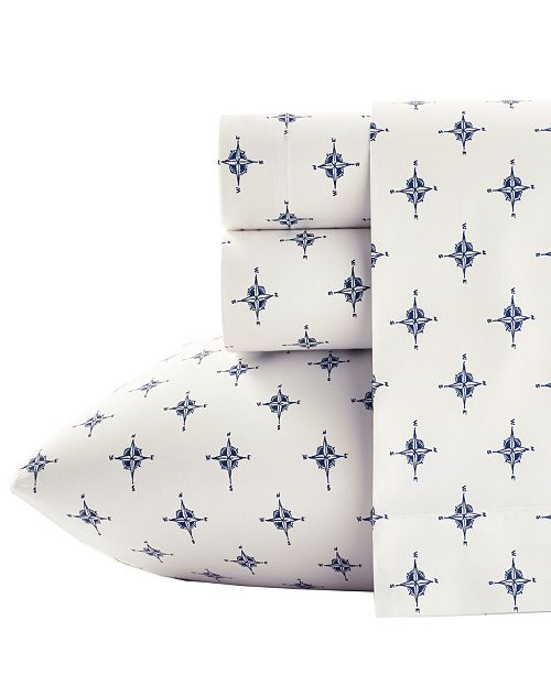 Poppy & Fritz Compass Sheet Set, Twin XL