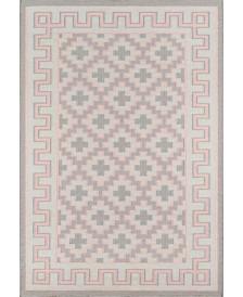 Erin Gates Thompson Tho-4 Brookline Pink 2' x 3' Area Rug