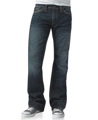 Silver Jeans Co. Men's Nash Heritage Straight Jean - Jeans - Men ...