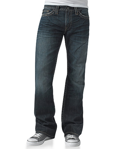 Silver Jeans Co. Men's Nash Heritage Straight Leg Jean - Jeans ...